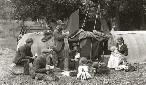 Gypsies in the New Forest