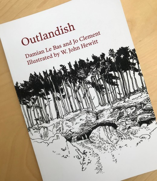 Cover of poetry book Outlandish