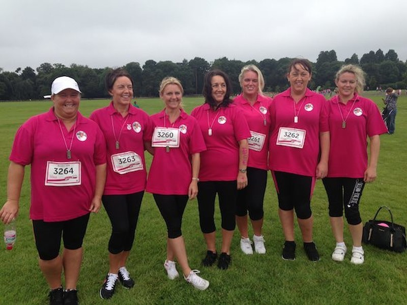 "Welsh Travellers take part in UK 'Race for Life' and ""do Beatie and themselves proud"""