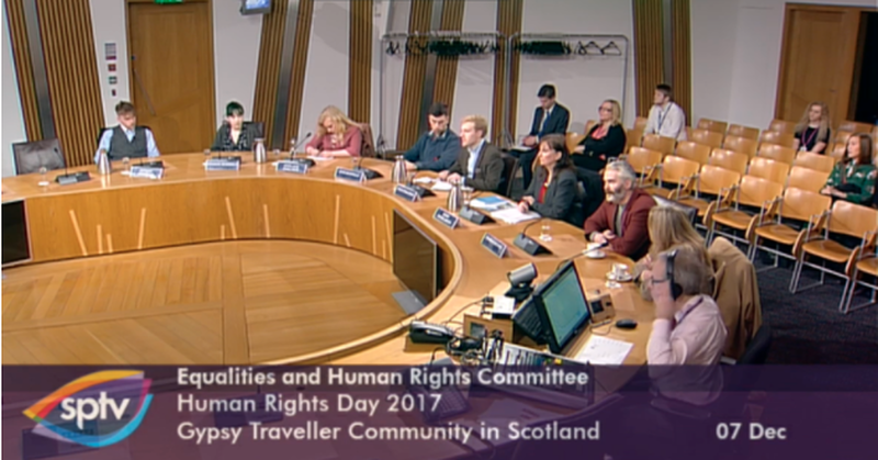 Travellers tell Scottish Government more needs to be done to combat racism