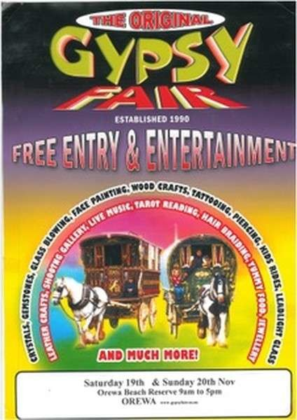 New Zealand 'The Original Gypsy Fair' drops Romani images from its advertising under pressure from campaigners