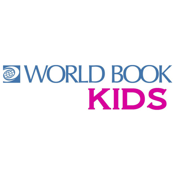 Words that say World Book Kids