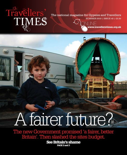 Cover Travellers Times magazine
