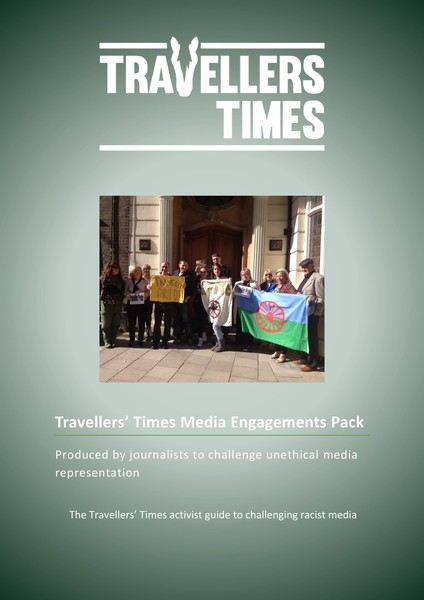 cover of TT challenging the media