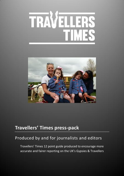 cover of TT press pack for journalists