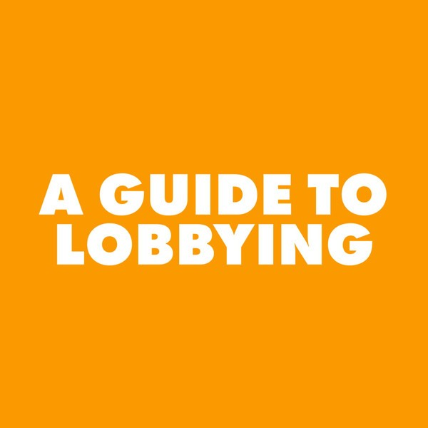 A Guide To Lobbying