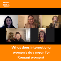 What does international women's day mean for Romani women?