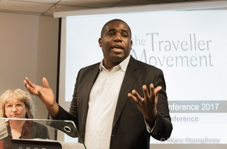 David Lammy at Traveller Movement conference 2017