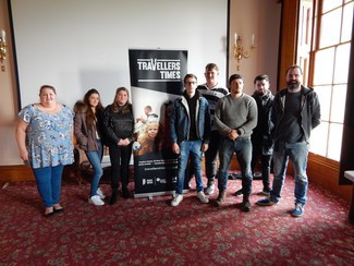 Traveller activists get stuck in at the TT Media Skills workshop in Wales
