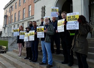 Chesterfield anti racism campaigners