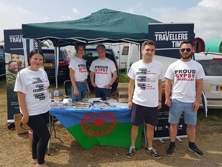 Young Gypsies and Travellers launch activist Network at Appleby Horse Fair