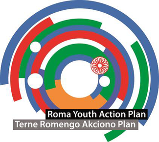 Roma Youth Action plan logo