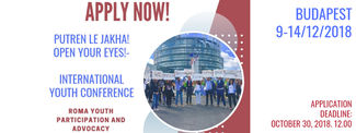 Apply Now International Roma youth conference