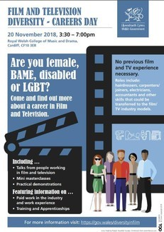 Film and Careers day flyer