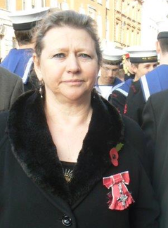 Doctor Siobhan Spencer, MBE, of Derbyshire Gypsy Liaison Group