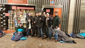 Catholic Travellers to give aid to London's rough sleepers this Saturday and call out for volunteers to help
