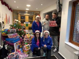 Travellers ensure hundreds of disadvantaged, seriously ill and disabled children have a present this Christmas