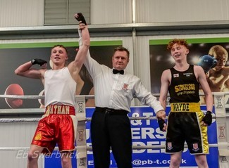 Lancashire - Nathan Linfoot wins regional boxing title to reach quarter final of national tournament