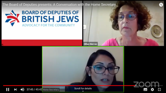 Home Secretary Priti Patel under fire for telling Jewish leaders that 'traveller family' murdered police officer