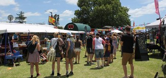The Original Gypsy Fair is a place for New Zealand's growing 'van and truck culture' to make money from tourists – who flock to the event in droves © Sun Media