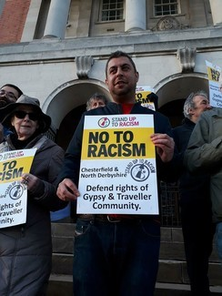 Chesterfield and North Derbyshire Stand up to Racism campaigner
