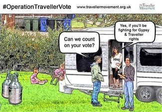 Operation Traveller Vote election Traveller Movement Gypsies