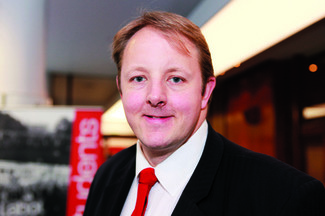 Toby Perkins MP for Chesterfield