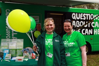 Macmillan Cancer Support at Applbey Horse Fair