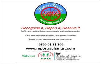 Report racism grt promotion advert