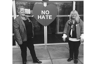 Indomitable Gypsy/Traveller campaigners: Sherrie Smith and Josie O'Driscoll © GATE Herts