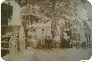 Harrison and Stanley families in 1910 America