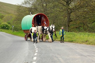 On the way to Appleby Fair © Natasha Quarmby