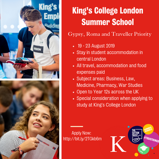Kings College opportunity