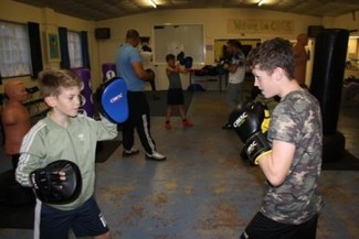 Gypsy from Poole puts non-contact boxing club on the road to success