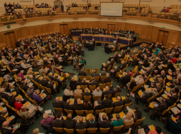 The Church of England Synod in action © CofE