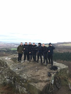 Ben Nevis or bust! Watson and crew in Scotland and set for charity mountain climb tomorrow
