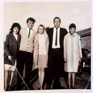 Chris Smith's brother Len Smith, (on the left) with his then girlfriend Beryl (in the middle) early 1960's.