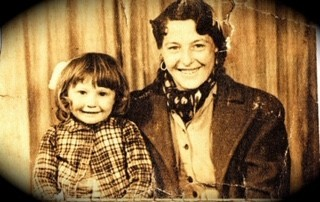 Elizabeth (Betty) Smith and my sister Mary a couple of years before the incident.