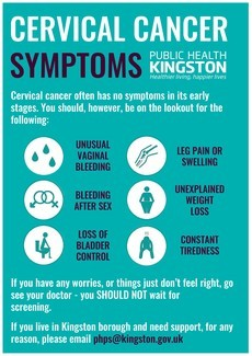 Cervical Cancer Symptoms
