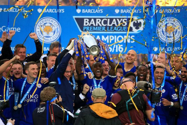 Leicester City are crowned Premier Champions c Leicester Mercury (600px * 404px)